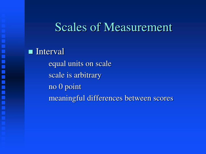 Scales of measurement2