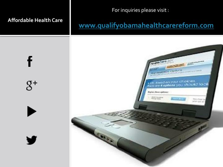 www.qualifyobamahealthcarereform.com