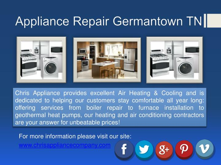 Appliance Repair Germantown