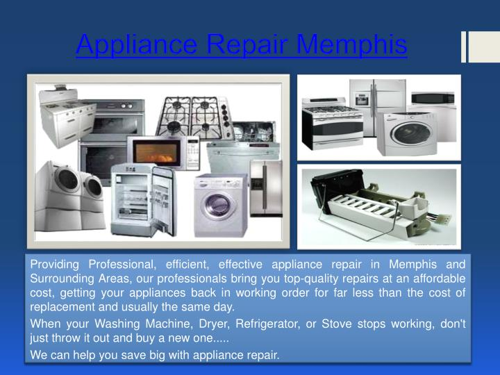 Appliance Repair Memphis