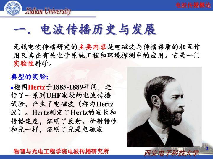 电波传播历史与发展