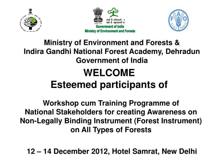Ministry of Environment and Forests &