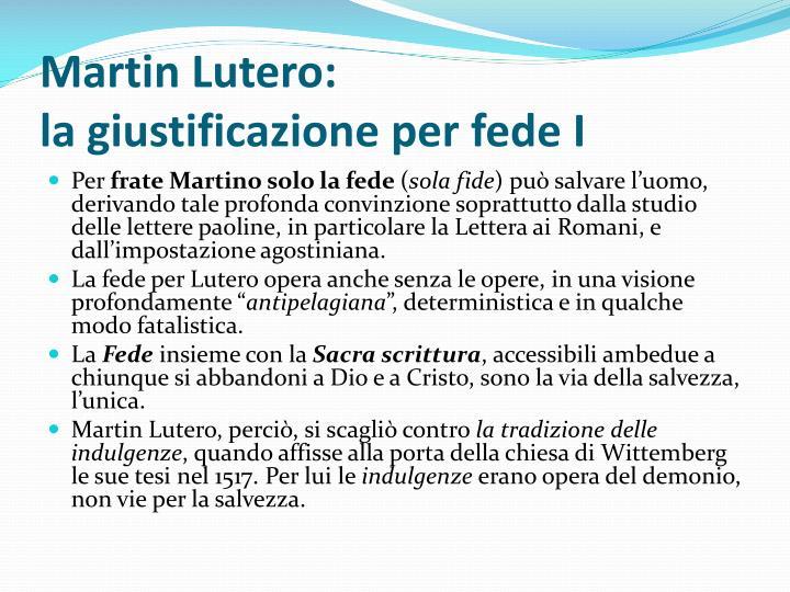 Martin Lutero: