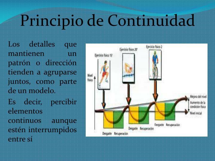 Principio de Continuidad