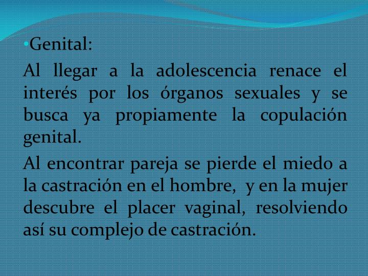 Genital: