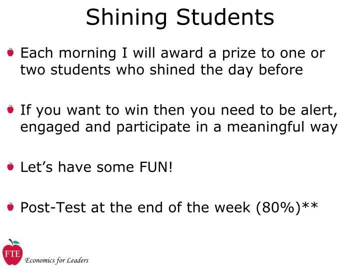 Shining Students