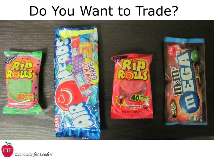 Do You Want to Trade?