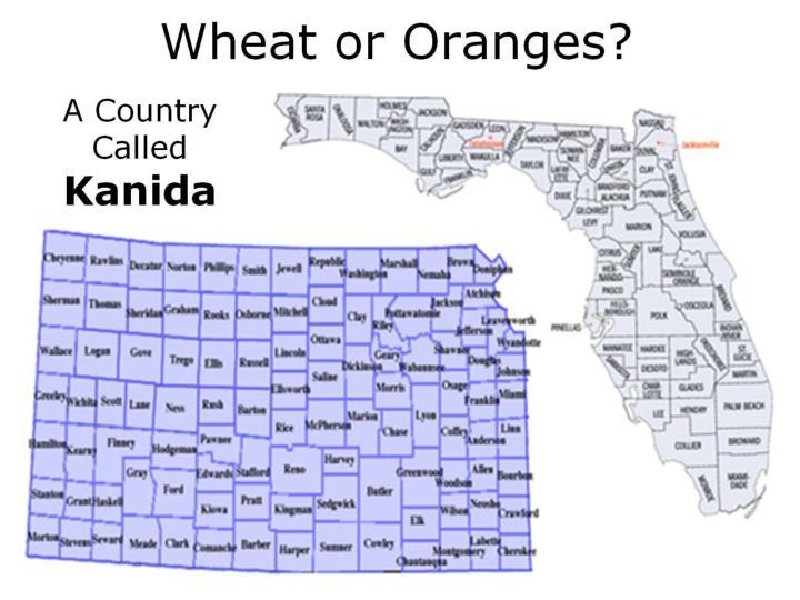 Wheat or Oranges?