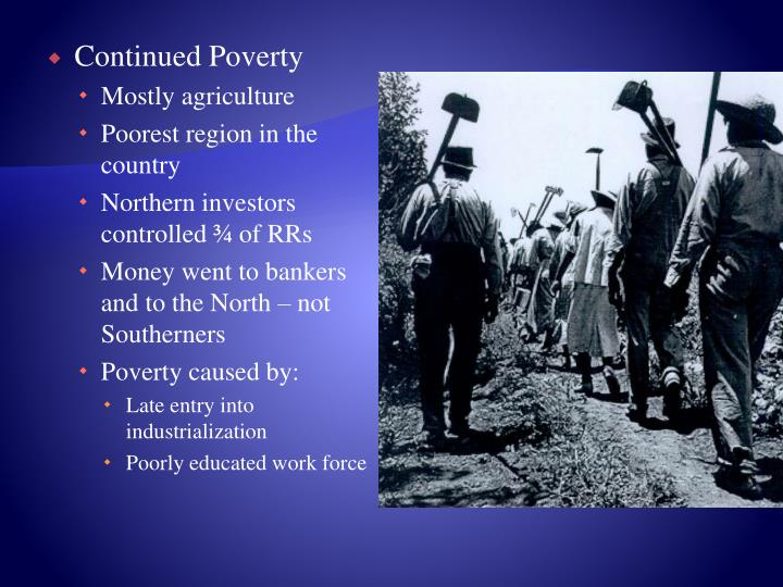 Continued Poverty