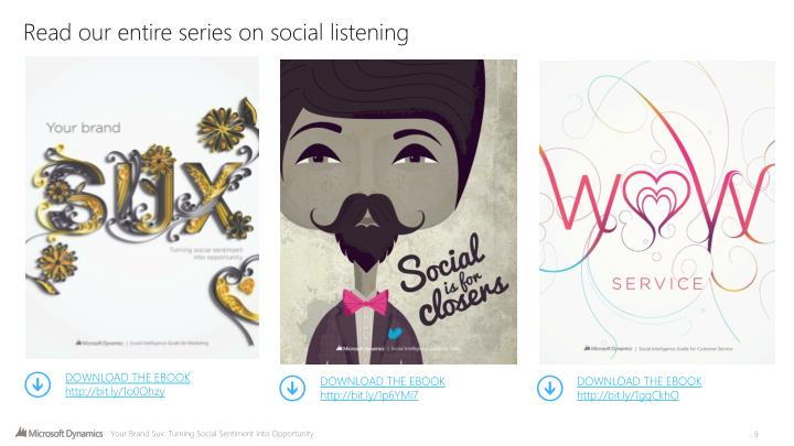 Read our entire series on social listening