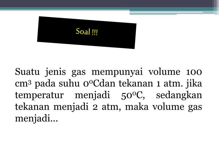 Soal !!!