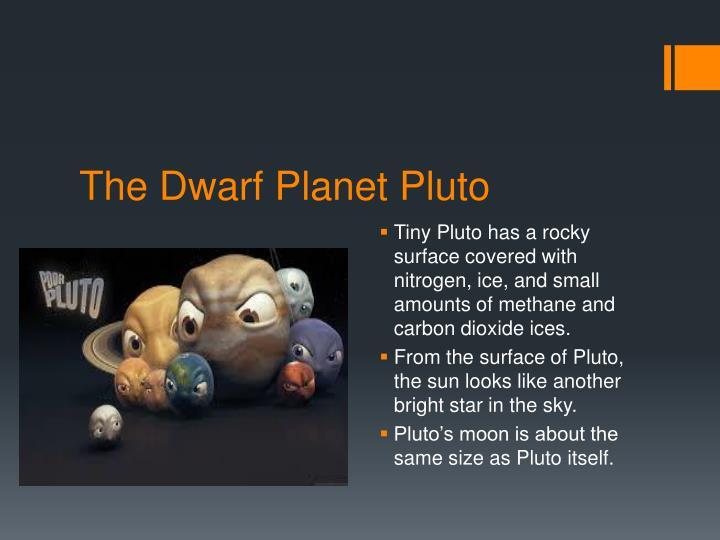 The Dwarf Planet Pluto