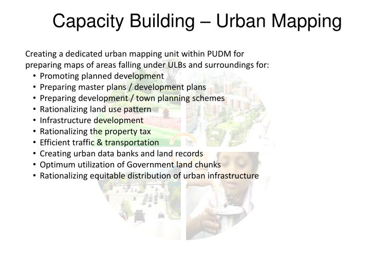 Capacity Building – Urban Mapping