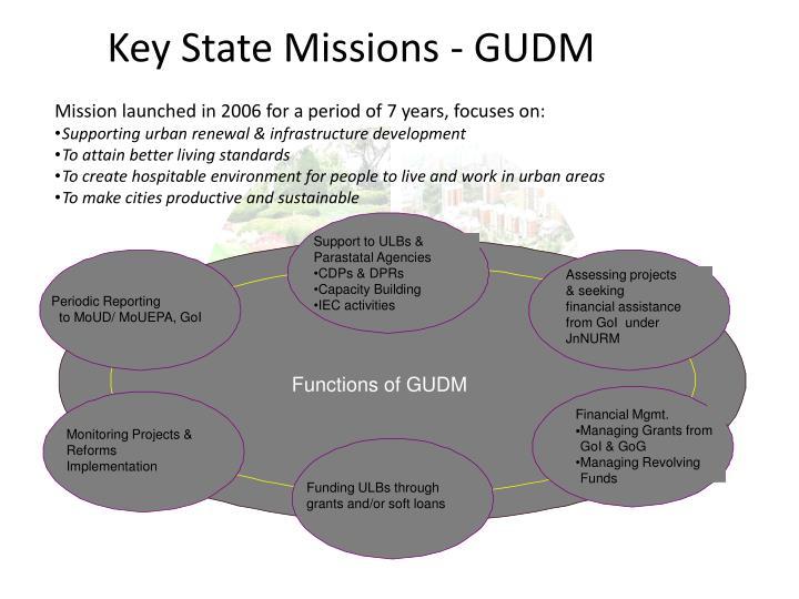 Key State Missions - GUDM
