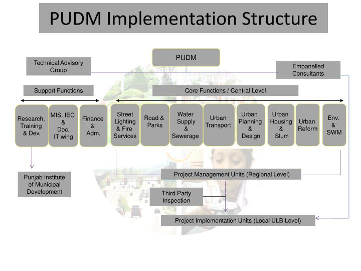 PUDM Implementation Structure
