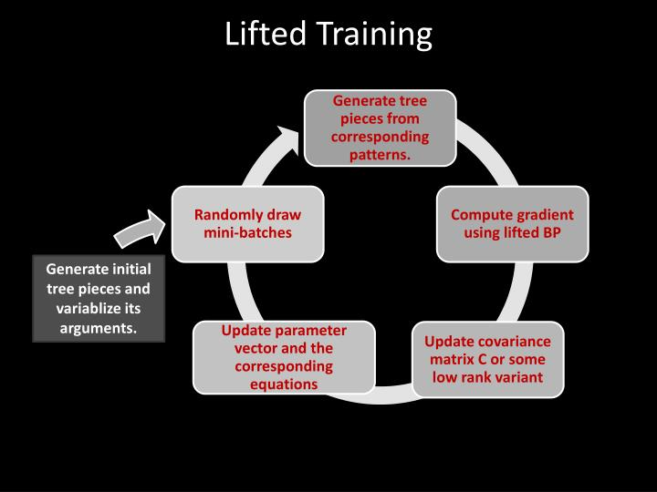 Lifted Training