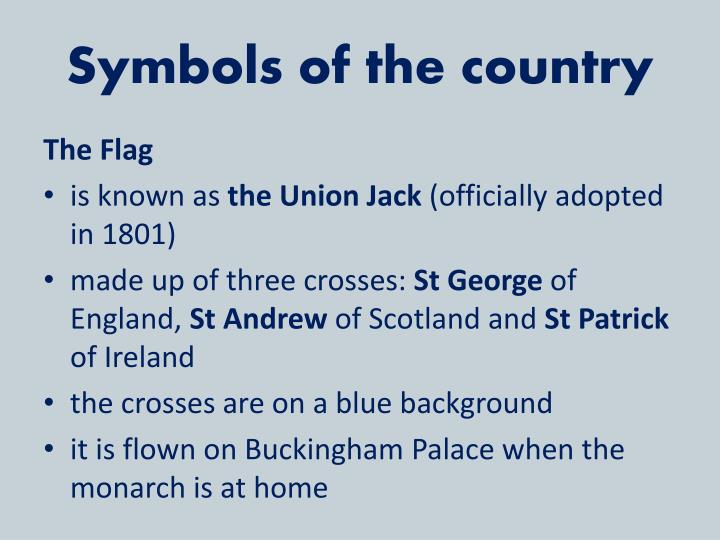 Symbols of the country
