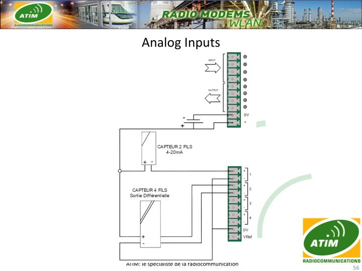 Analog Inputs