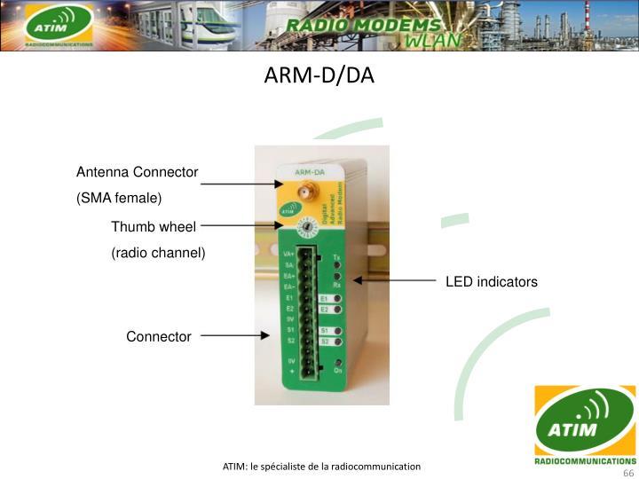 ARM-D/DA