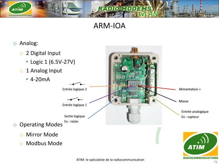 ARM-IOA