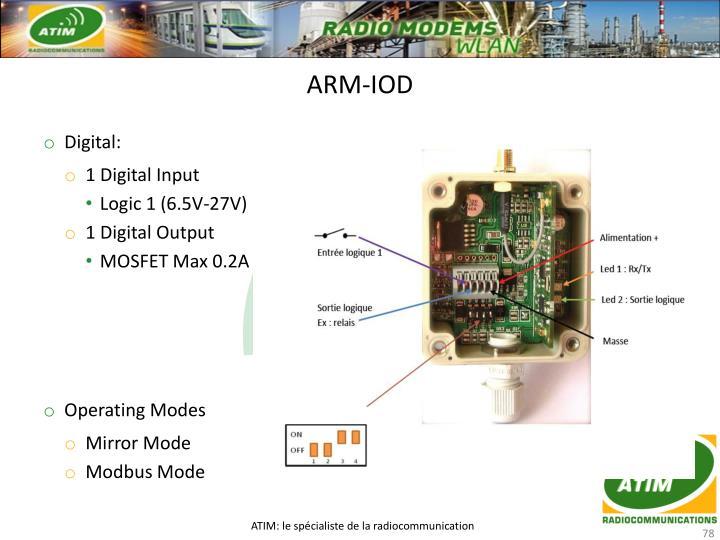 ARM-IOD