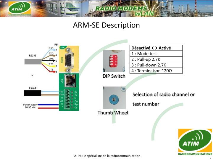 ARM-SE Description