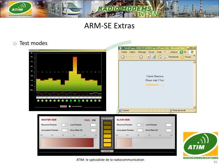 ARM-SE Extras