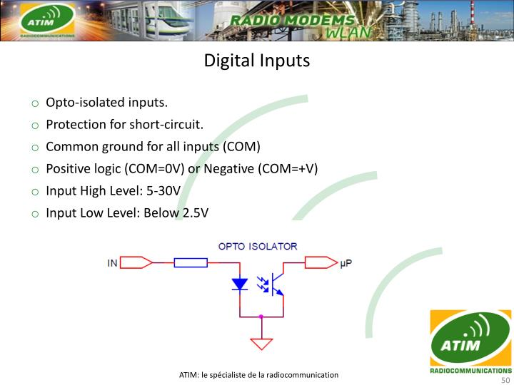 Digital Inputs
