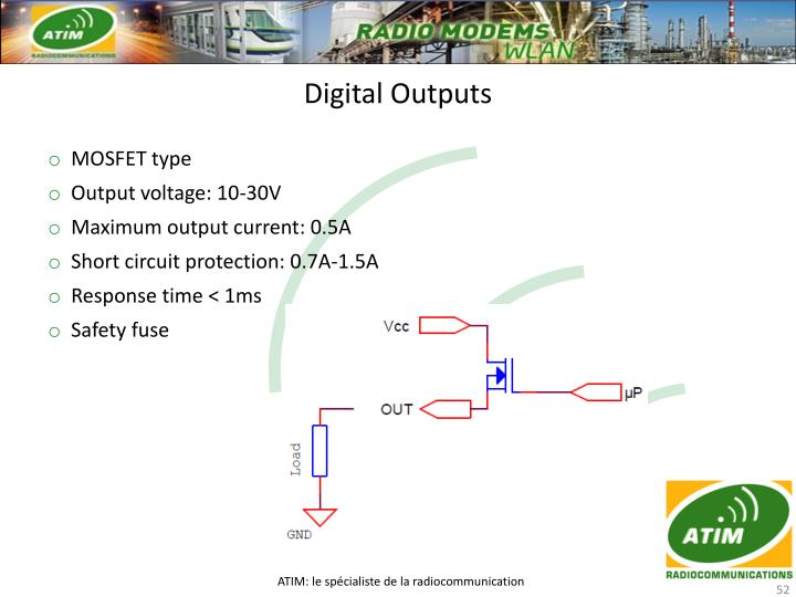 Digital Outputs