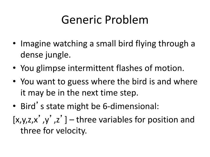 Generic Problem