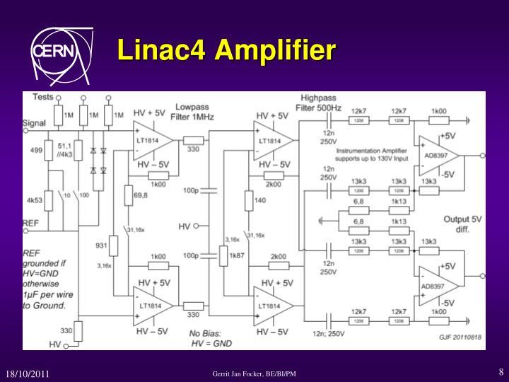 Linac4 Amplifier