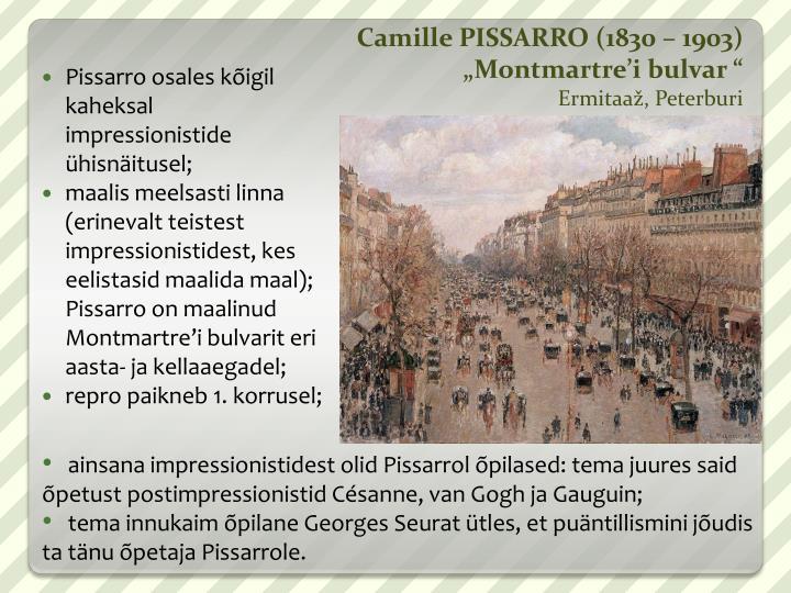 Camille PISSARRO (