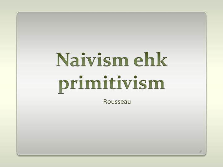 Naivism ehk primitivism