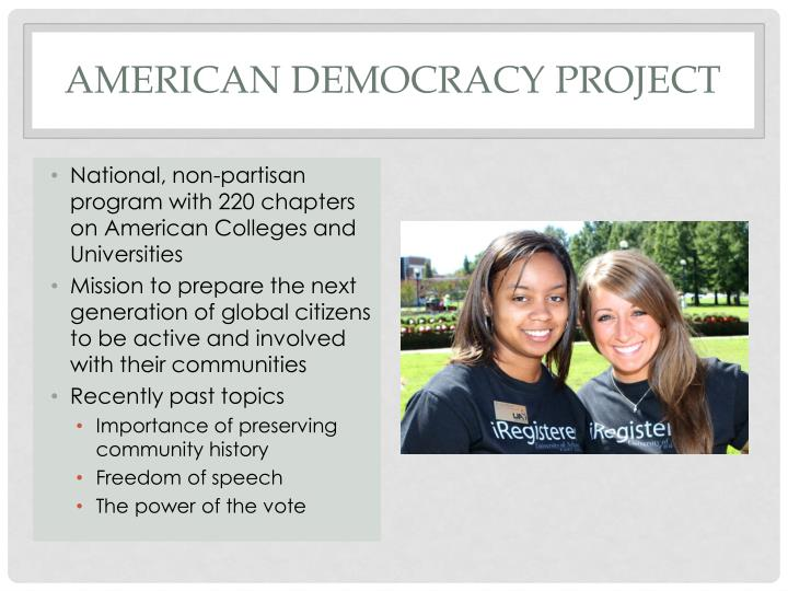 American Democracy Project