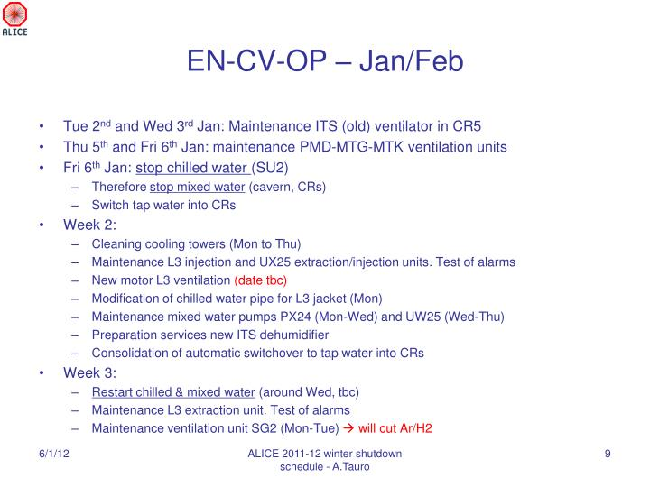 EN-CV-OP – Jan/Feb