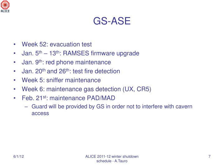 GS-ASE