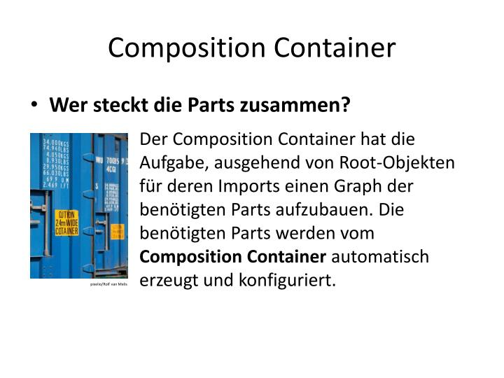 Composition Container