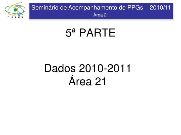 Dados 2010-2011