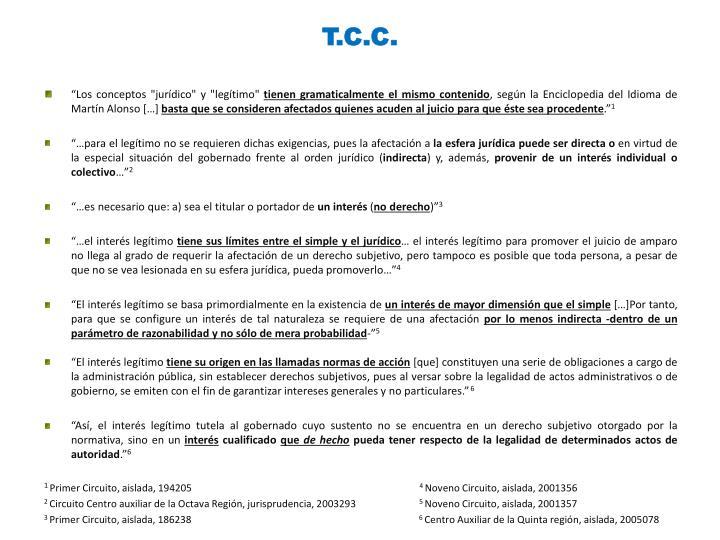 T.C.C