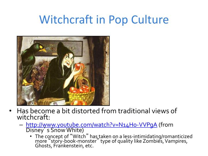 Witchcraft in Pop Culture