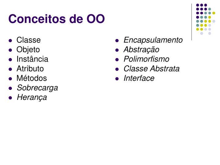 Conceitos de OO