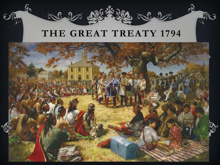 The Great treaty 1794