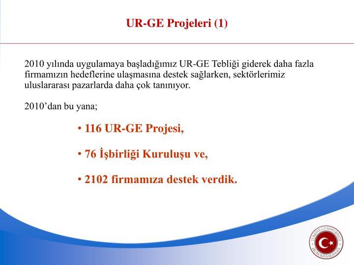 UR-GE Projeleri (1)