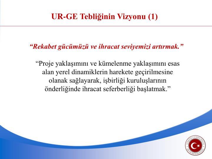 UR-GE Tebliğinin Vizyonu (1)