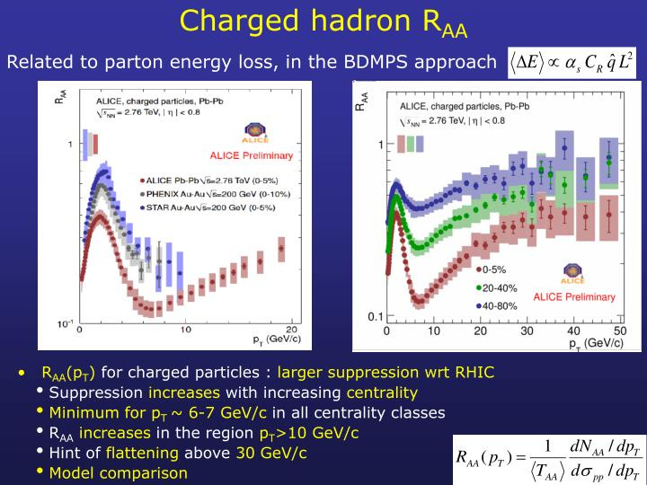 Charged hadron R