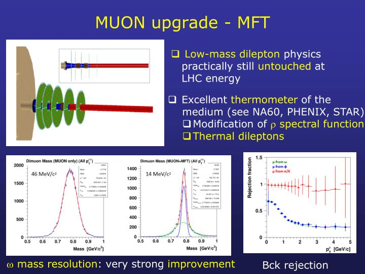 MUON upgrade - MFT