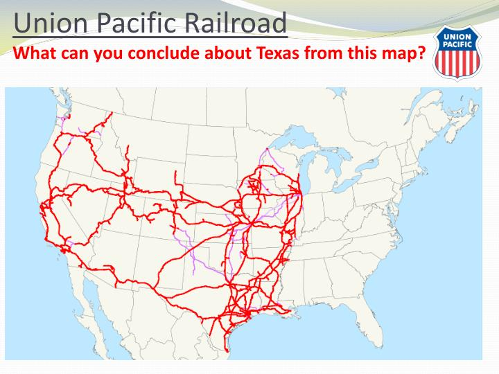 recall when and where did the union pacific central lines meet
