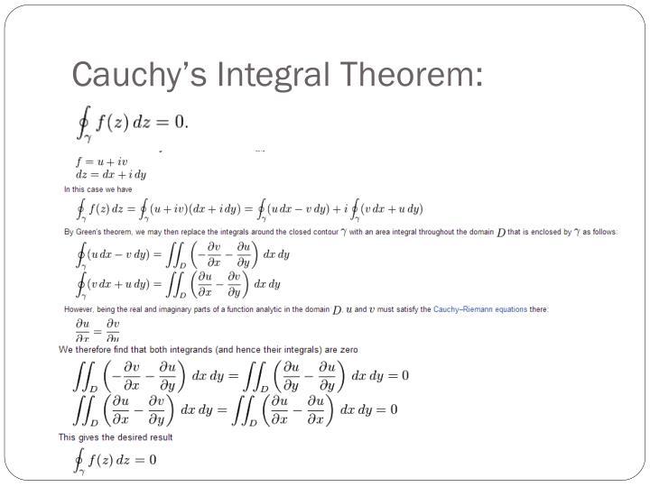 Cauchy's