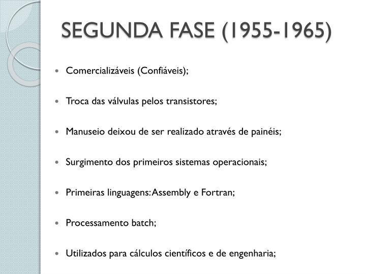 SEGUNDA FASE (