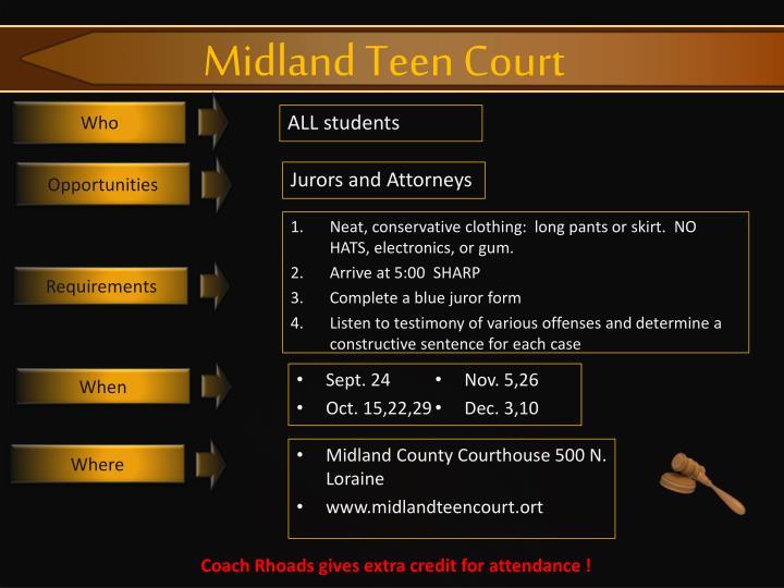Midland Teen Court